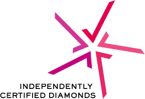 Independetly Certified Diamonds Trustmark